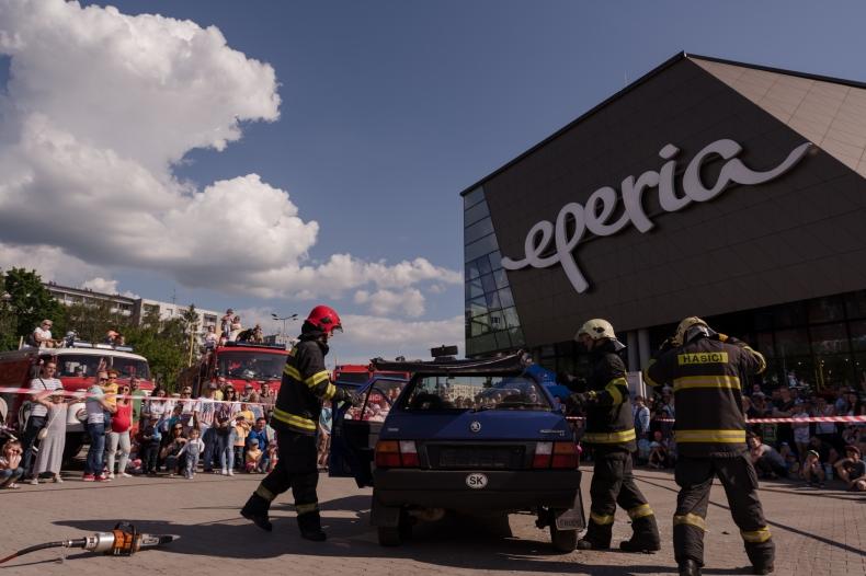 Deň detí s hasičmi