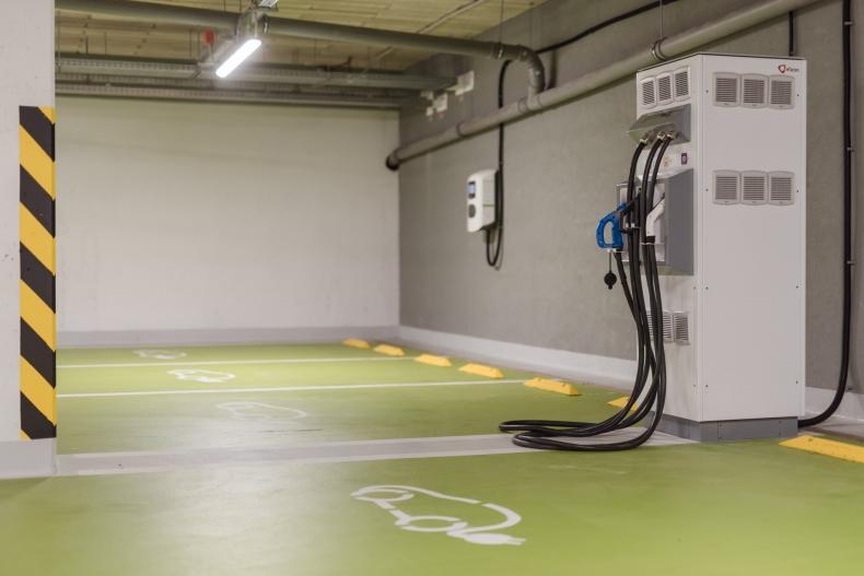 Nabijacia stanica pre elektrické vozidlá