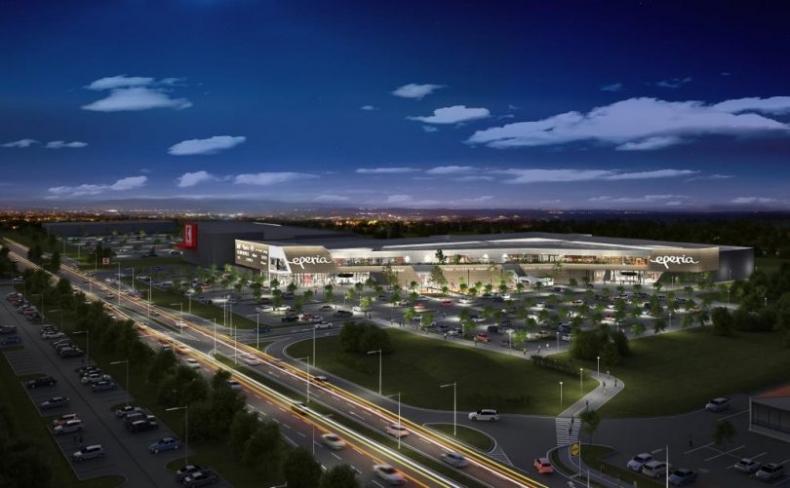 Nové obchodné centrum EPERIA otvorí podľa plánu už túto jeseň.