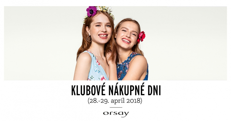 Klubové nákupné dni v Orsay
