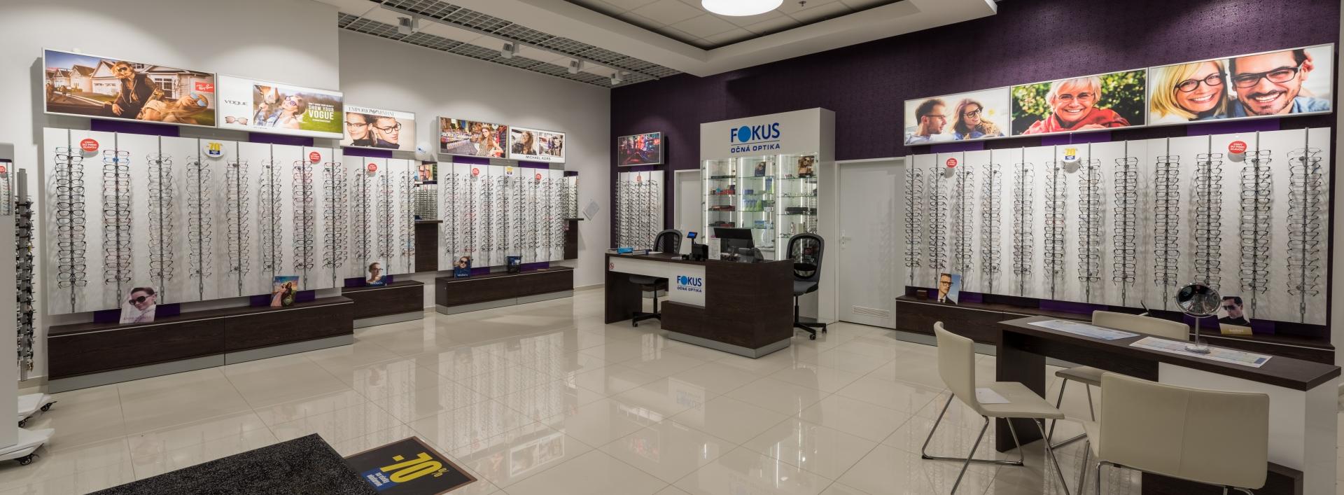 835d9b5db FOKUS očná optika | Eperia - Shopping mall