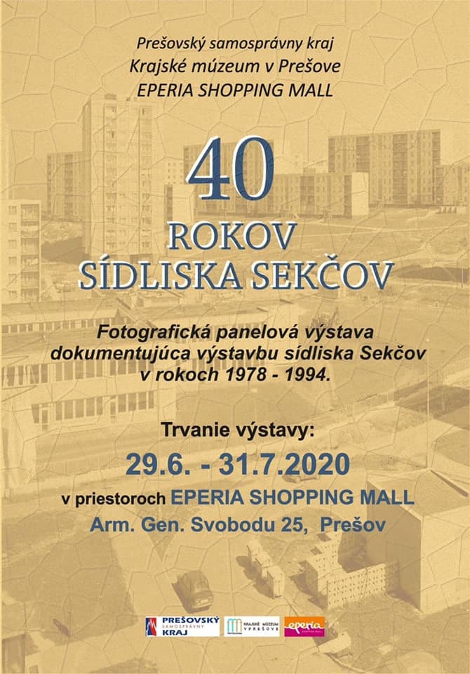 Výstava 40 rokov sídliska Sekčov