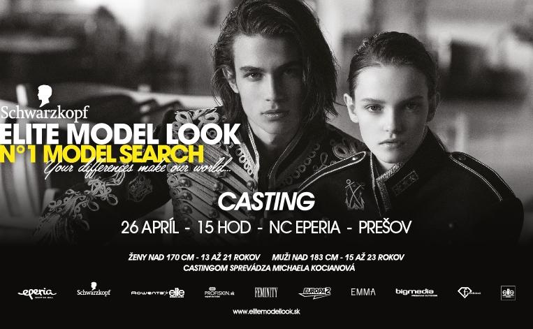 Schwarzkopf Elite Model Look Casting