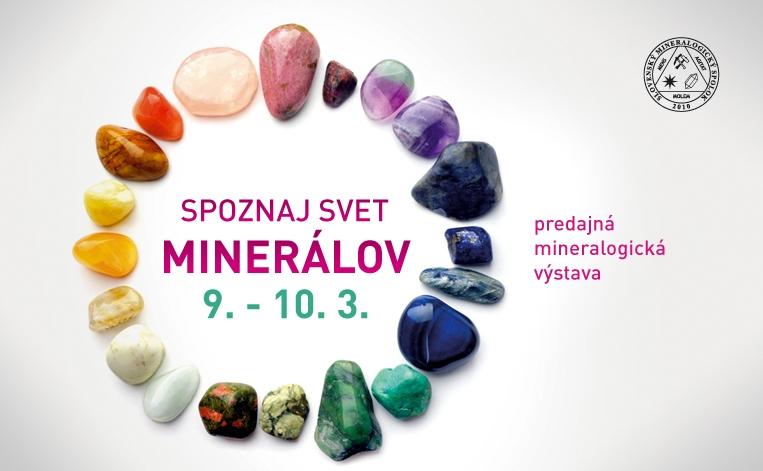 výstava minerálov a drahých kameňov